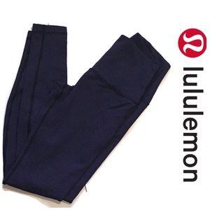 Lululemon Wunder Under Textured Leggings Size 8